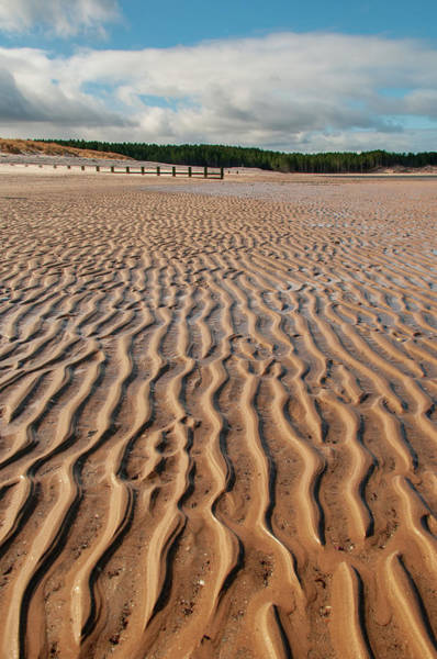Sand Mixed Media - Findhorn by Smart Aviation