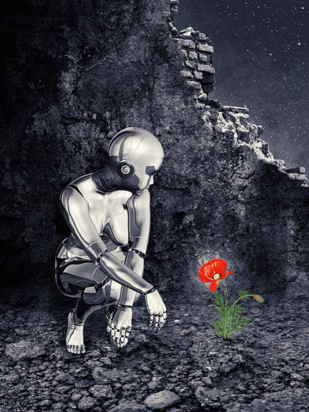 Apparition Digital Art - Finding Life by Mihaela Pater