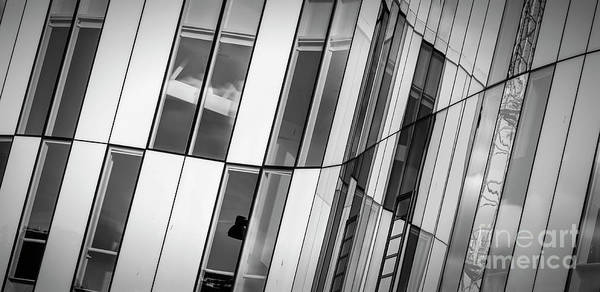 Wall Art - Photograph - Fine Art Modern Architecture Helsingborg Abstract Windows by Antony McAulay