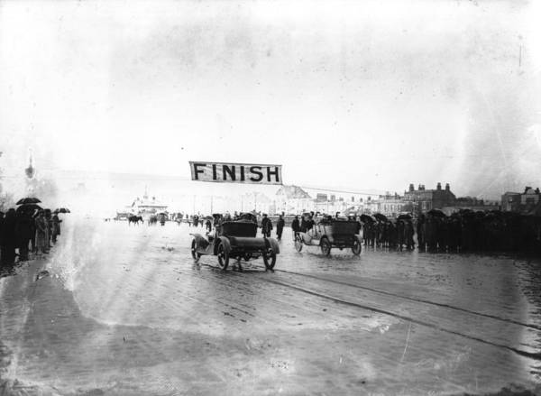 Weston Photograph - Finish Of Race by Topical Press Agency