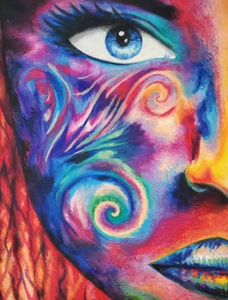 Wall Art - Pastel - Finite Perception by Simeon Wuthier