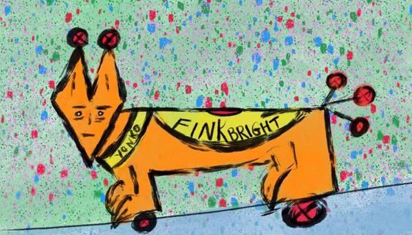 Painting - Fink Bright by Yonko Kuchera