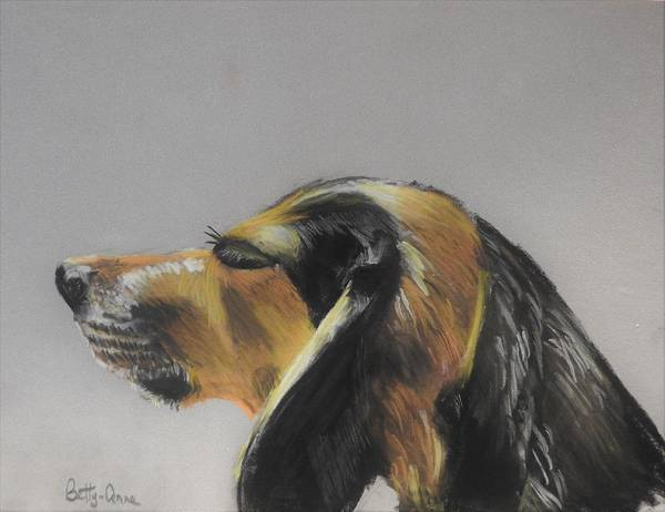 Wall Art - Pastel - Finnigan by Betty-Anne McDonald
