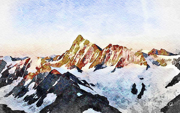 Wall Art - Photograph - Finsteraarhorn II by DiFigiano Photography