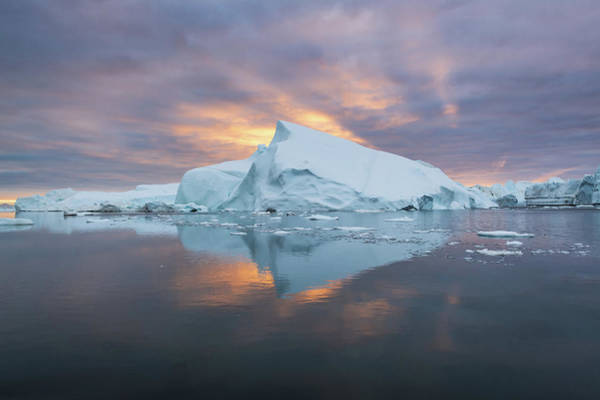 Photograph - Fire And Ice by Michael Blanchette