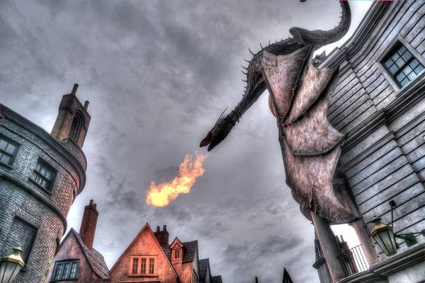 Wall Art - Photograph - Fire Breathing Dragon by Randy Dyer
