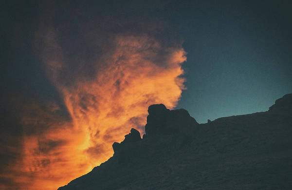 Wall Art - Photograph - Fire Clouds by Martin Newman