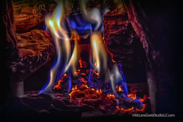 Flammable Wall Art - Photograph - Fire Dance by LeeAnn McLaneGoetz McLaneGoetzStudioLLCcom