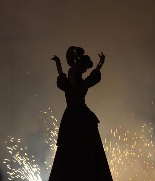 Wall Art - Photograph - Fire Dancer by Miguel Sotomayor