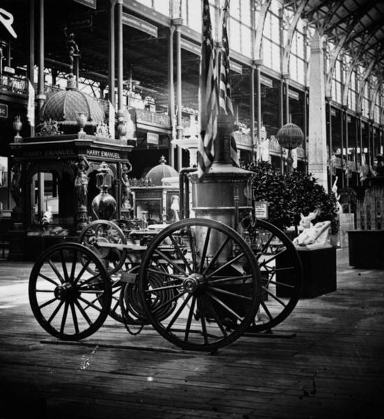Wall Art - Photograph - Fire Engine by William England