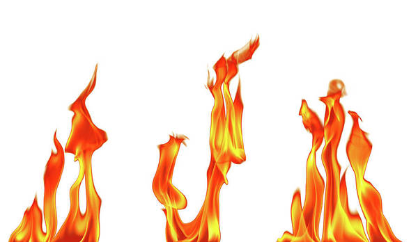 Fuel Element Photograph - Fire Flame by Imagedepotpro