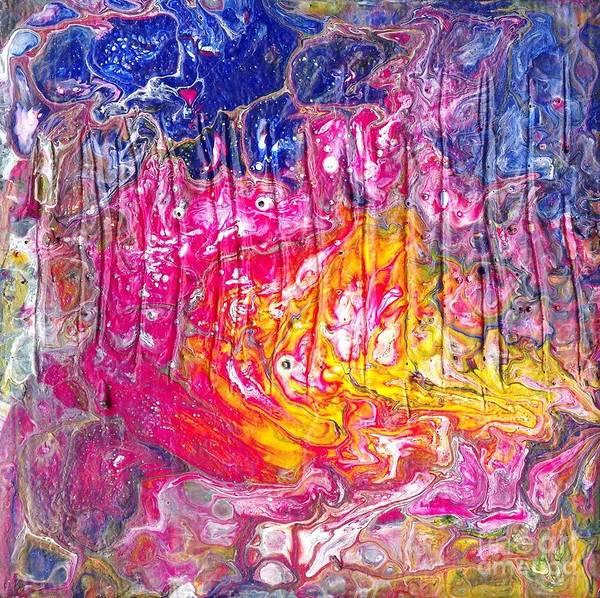 Painting - Fire In Heaven by Angelika GAIGL