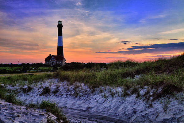 Berk Wall Art - Photograph - Fire Island Lighthouse by Rick Berk