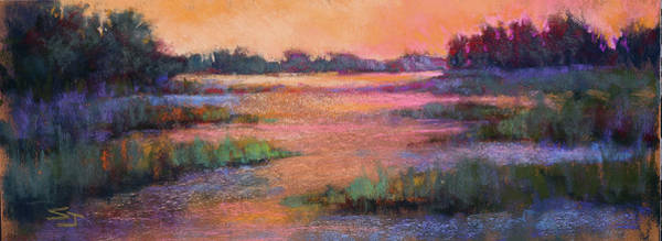 Painting - Fire Marsh by Susan Jenkins