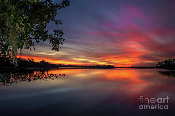 Wall Art - Photograph - Fire On The Water by Rick Mann
