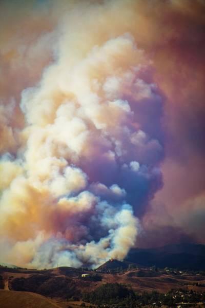 Photograph - Fire Power by Lynn Bauer