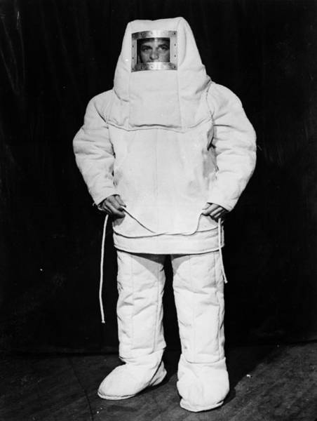 Protective Clothing Photograph - Fire Proof Man by Keystone