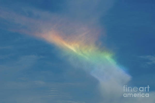 Photograph - Fire Rainbow - Circumhorizontal Arc by Dale Powell