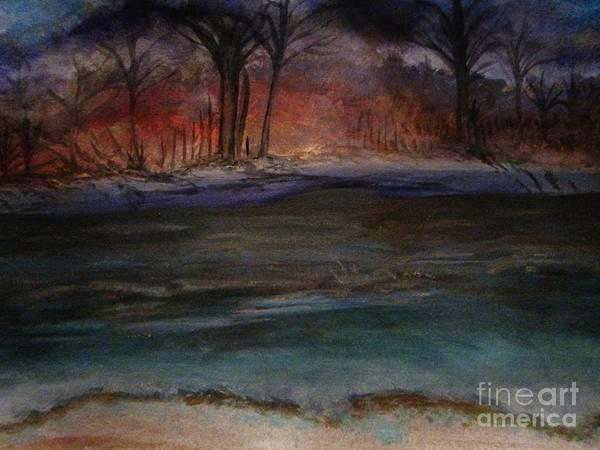 Wall Art - Painting - Fire by Stephanie Zelaya