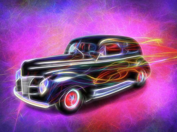 Digital Art - Fire Wagon by Rick Wicker