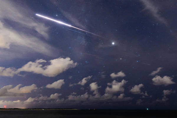 Photograph - Fireball In The Sky by Joe Leone