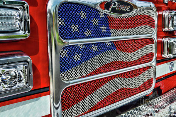 Wall Art - Photograph - Firefighter Pride by Paul Ward