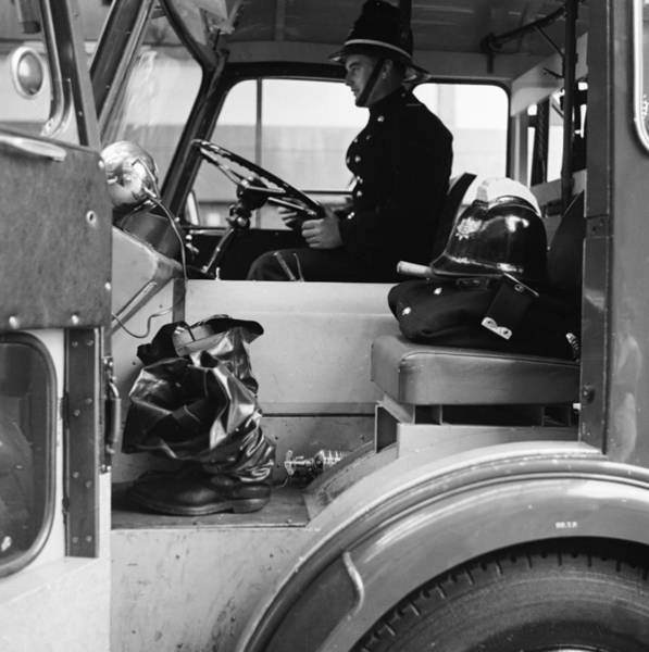 Protective Clothing Photograph - Fireman Sam by Chaloner Woods