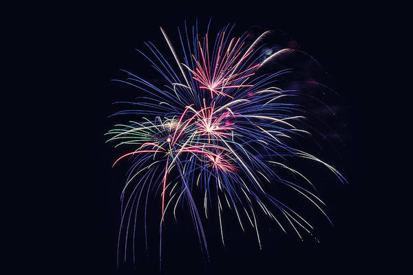 Wall Art - Photograph - Firework 2019 Five by Marnie Patchett