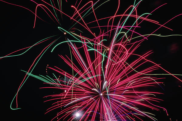 Wall Art - Photograph - Fireworks 2019 Fifteen  by Marnie Patchett