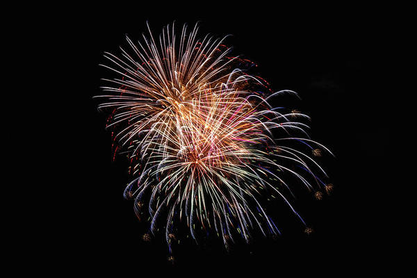 Wall Art - Photograph - Fireworks 2019 Four by Marnie Patchett