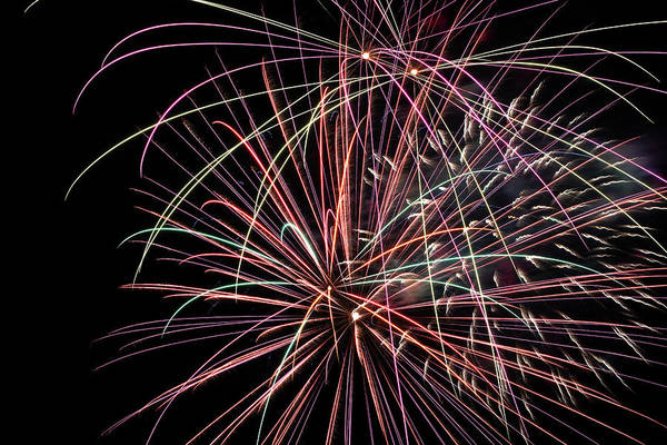 Wall Art - Photograph - Fireworks 2019 Fourteen  by Marnie Patchett