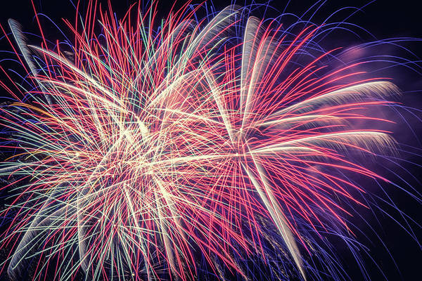 Wall Art - Photograph - Fireworks 2019 Nine by Marnie Patchett