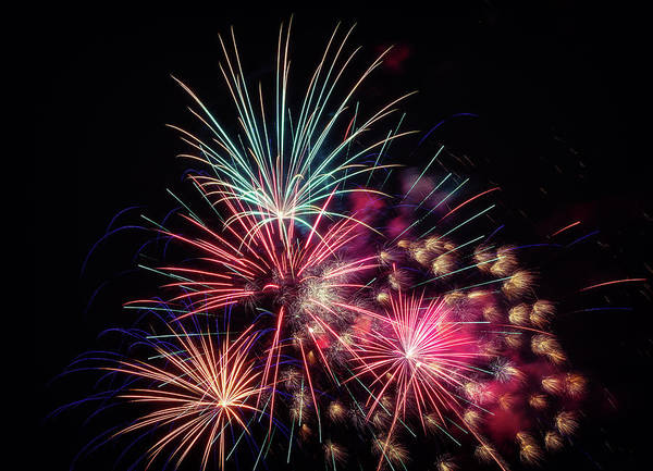 Wall Art - Photograph - Fireworks 2019 One by Marnie Patchett