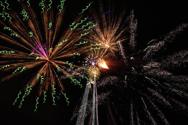 Wall Art - Photograph - Fireworks 2019 Six by Marnie Patchett