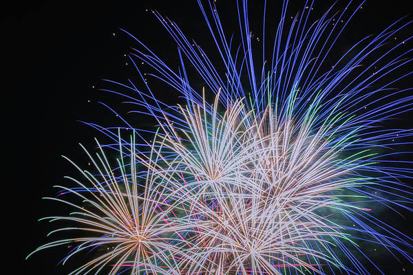 Wall Art - Photograph - Fireworks 2019 Thirteen by Marnie Patchett