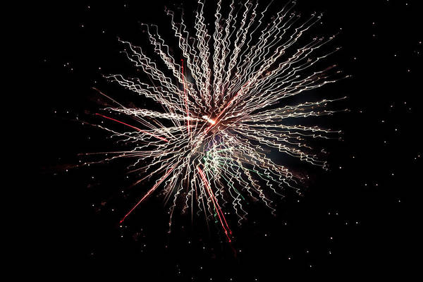 Wall Art - Photograph - Fireworks 2019 Twelve by Marnie Patchett