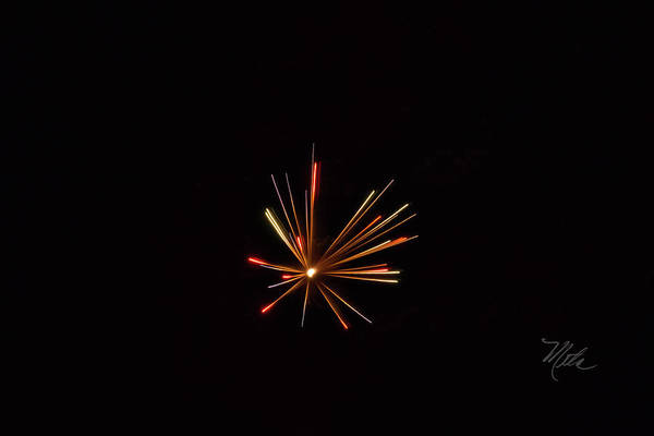 Photograph - Fireworks A Star Is Born by Meta Gatschenberger