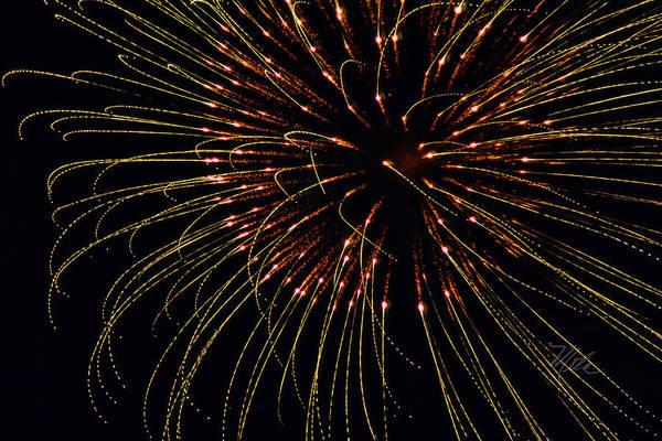 Photograph - Fireworks Bad Hair Day by Meta Gatschenberger