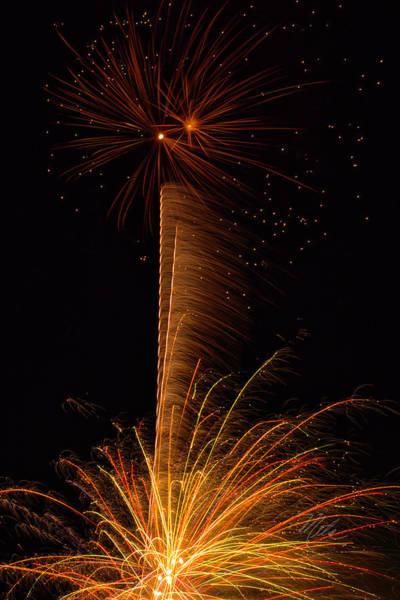 Photograph - Fireworks Bang by Meta Gatschenberger