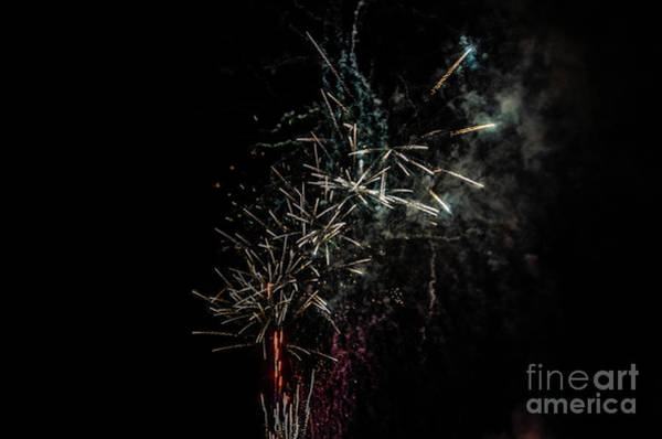 Photograph - Fireworks Display With Multiple Colors by Sue Smith