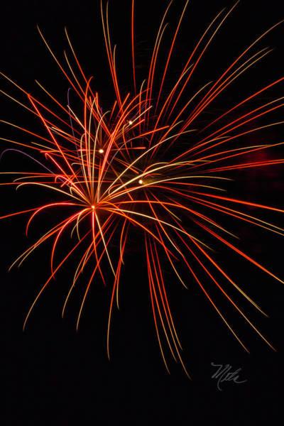Photograph - Fireworks Explosion by Meta Gatschenberger