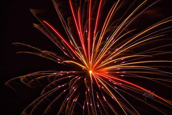Photograph - Fireworks Pizzazz by Meta Gatschenberger