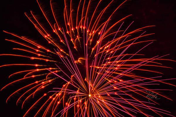Photograph - Fireworks Ring Of Fire by Meta Gatschenberger