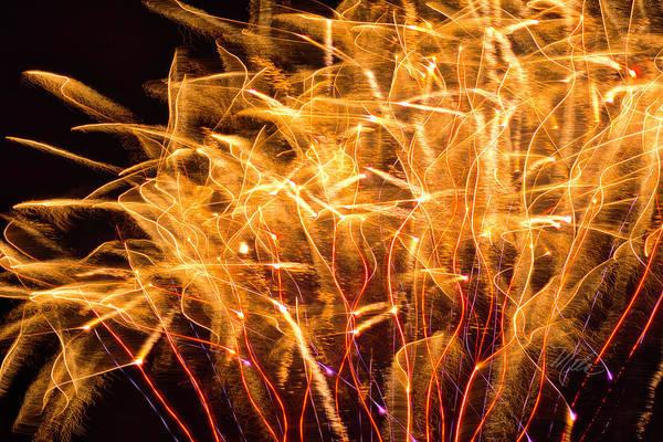 Photograph - Fireworks Wheat by Meta Gatschenberger