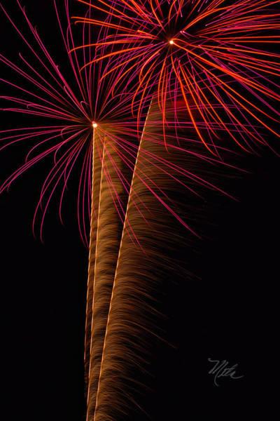 Photograph - Fireworks Zoom by Meta Gatschenberger