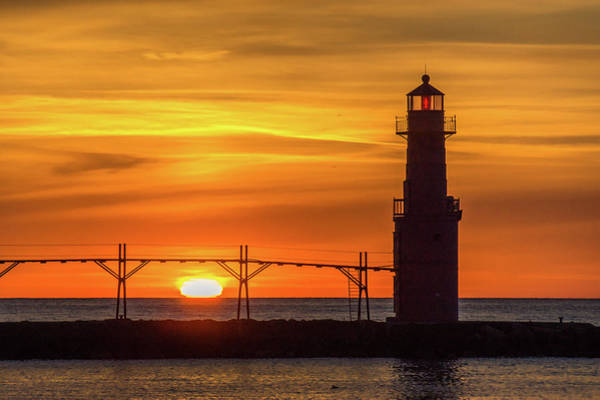 Wall Art - Photograph - First And Last Lights by Bill Pevlor