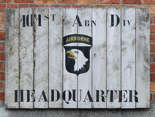 Wall Art - Photograph - First Armored Division Hq by John Ceci