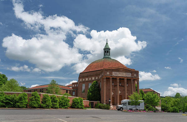 Photograph - first Baptist Church Asheville by Joye Ardyn Durham