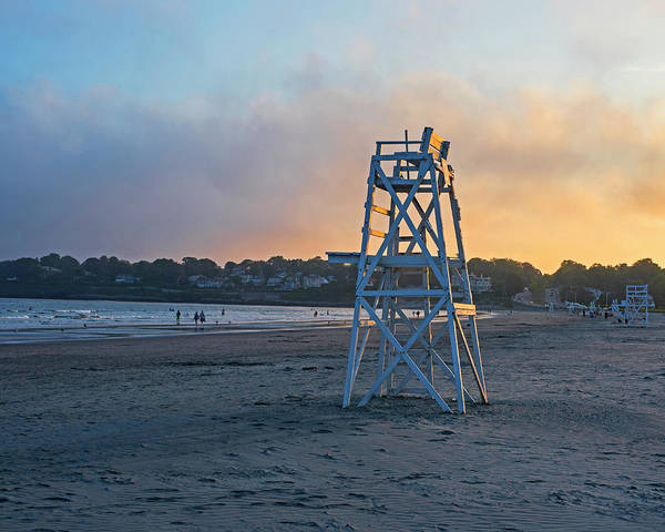 Newport Ri Wall Art - Photograph - First Beach Sunset Newport Ri Rhode Island by Toby McGuire