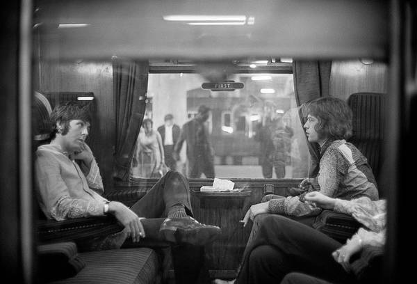 Mick Jagger Photograph - First Class Travel by Victor Blackman
